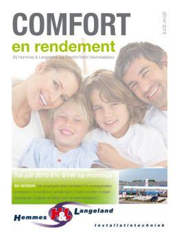 Bekijk Nu Onze Comfort & Rendement Courant!